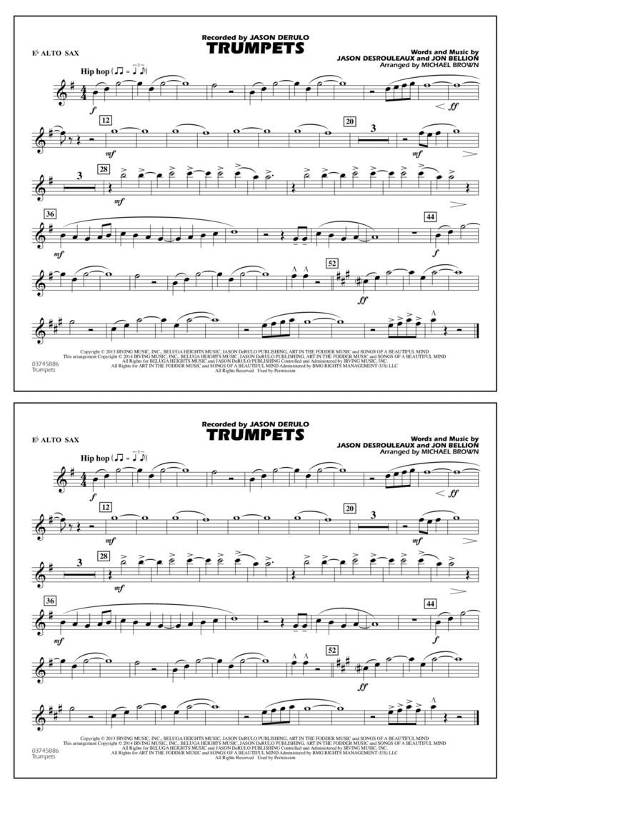 Trumpets - Eb Alto Sax