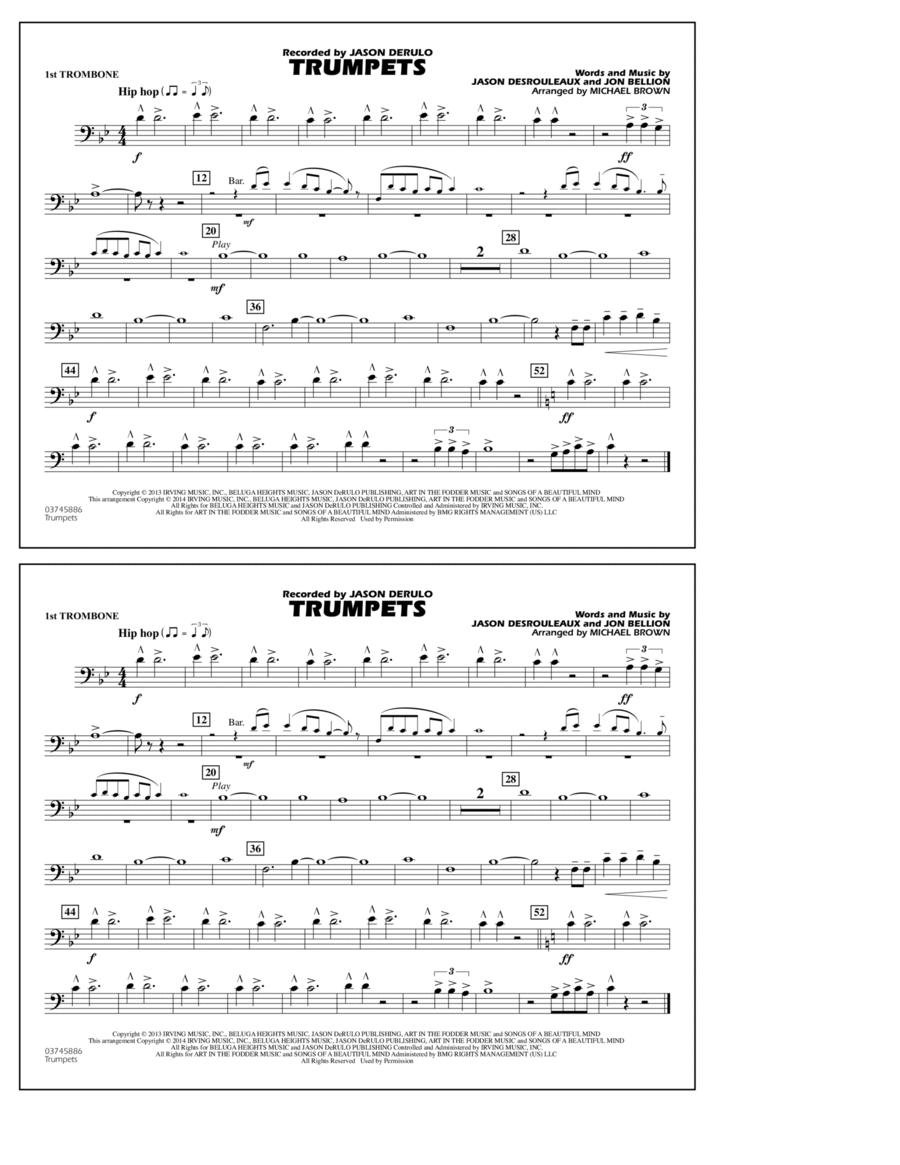 Trumpets - 1st Trombone