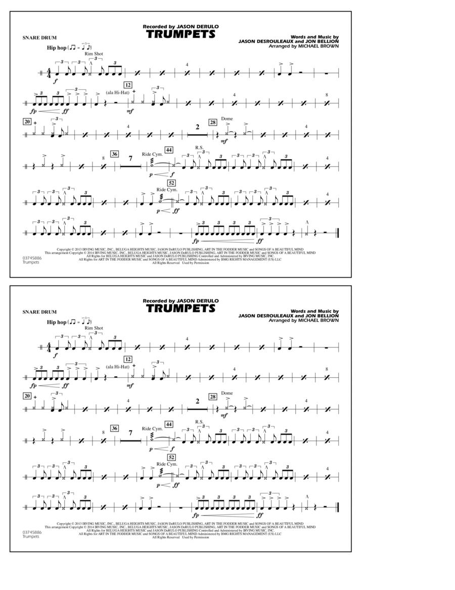 Trumpets - Snare Drum