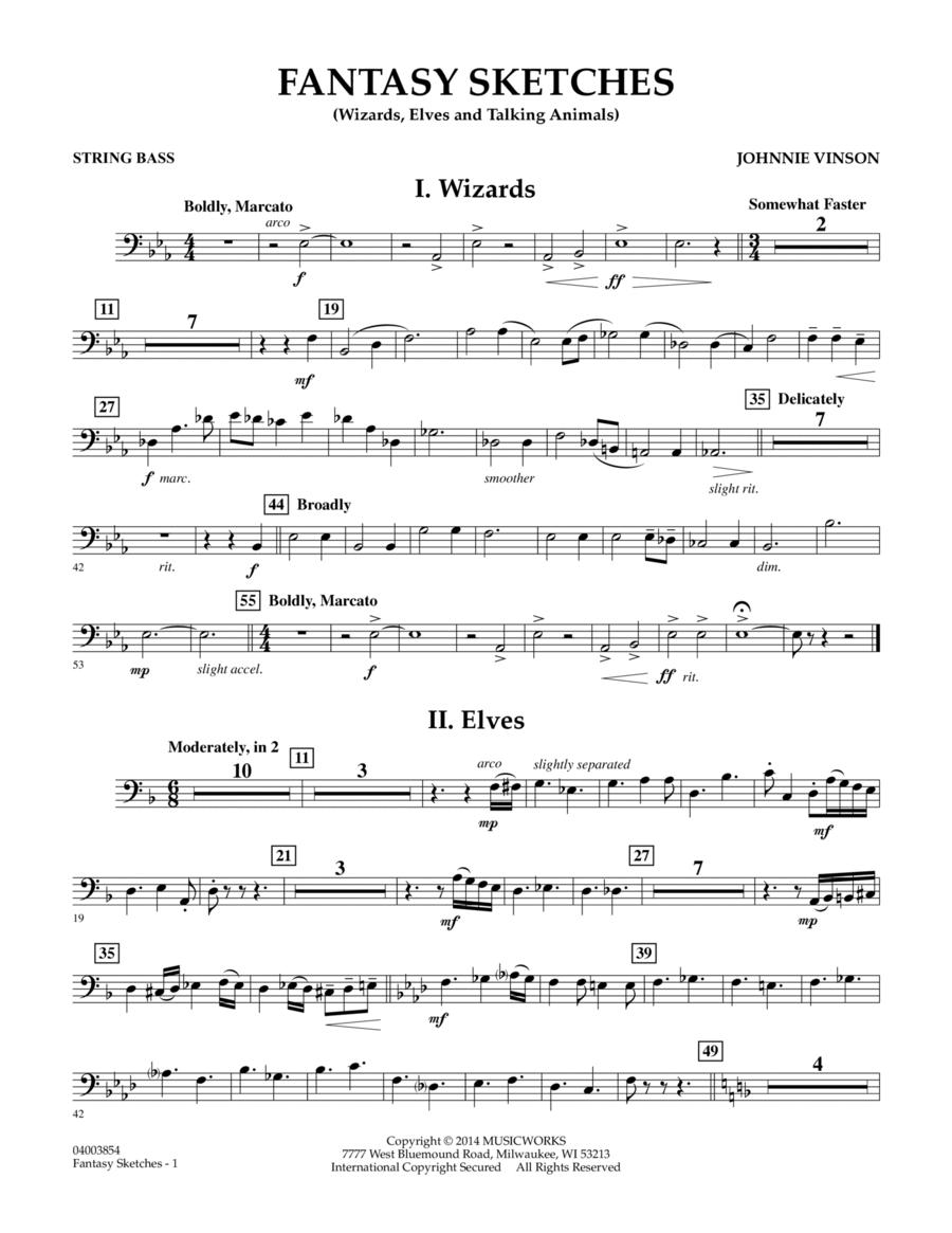 Fantasy Sketches - String Bass