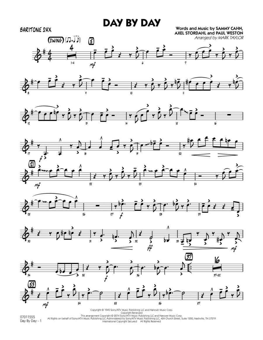 Day by Day - Baritone Sax