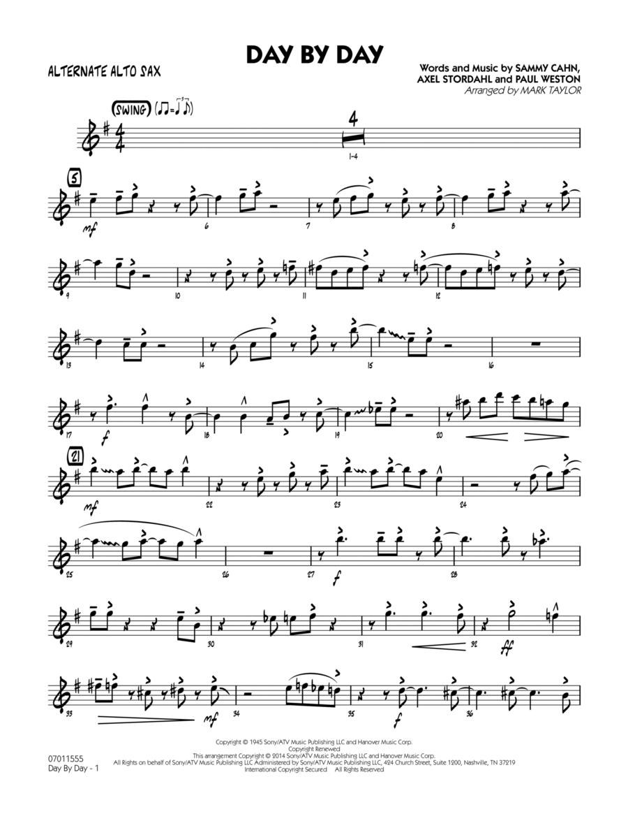 Day by Day - Alternate Alto Sax