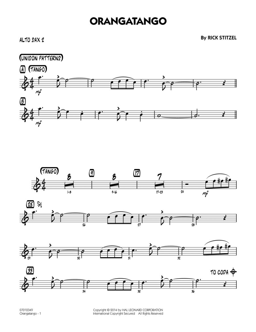 Orangatango - Alto Sax 2