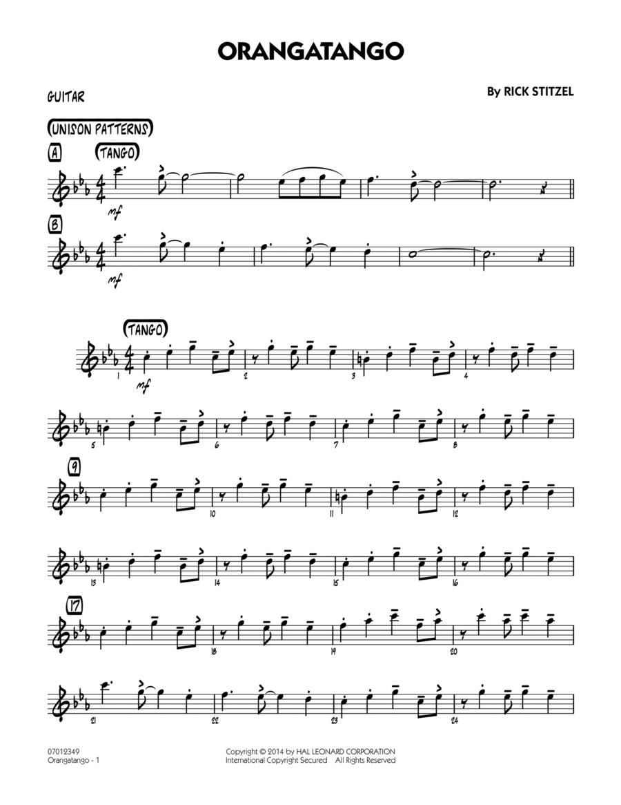 Orangatango - Guitar