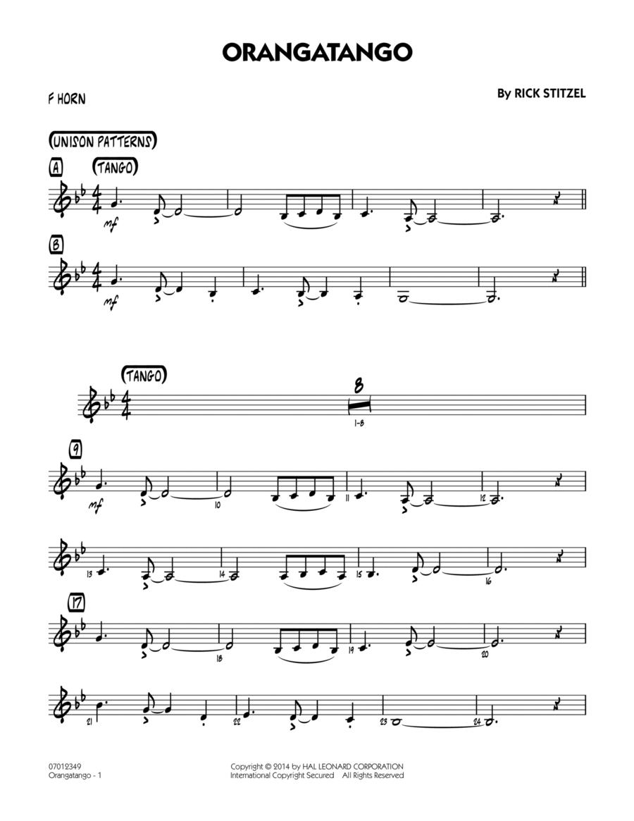 Orangatango - F Horn