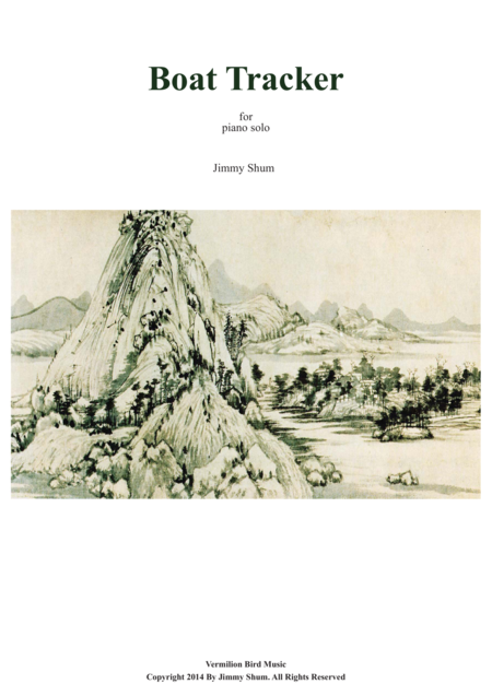 Boat Tracker - Chinese Style Piano Music