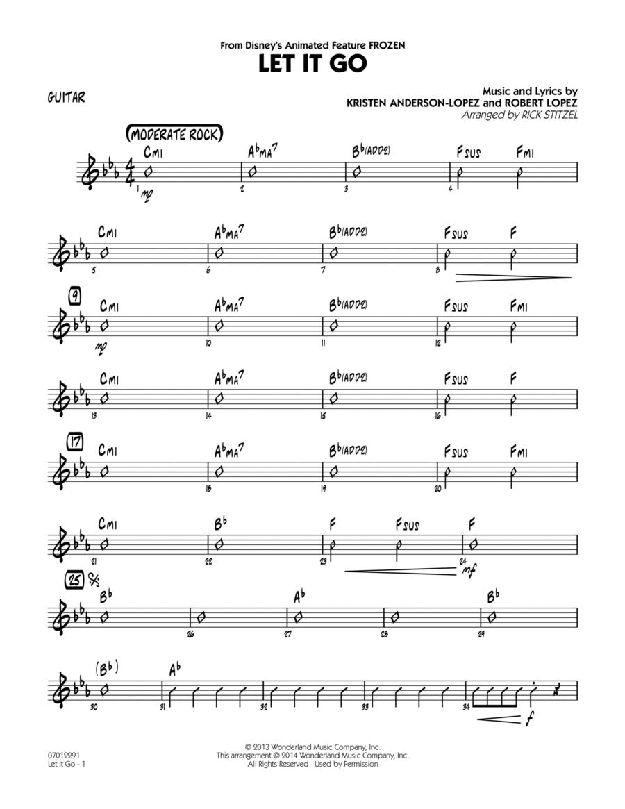 Let It Go (from Frozen) - Guitar