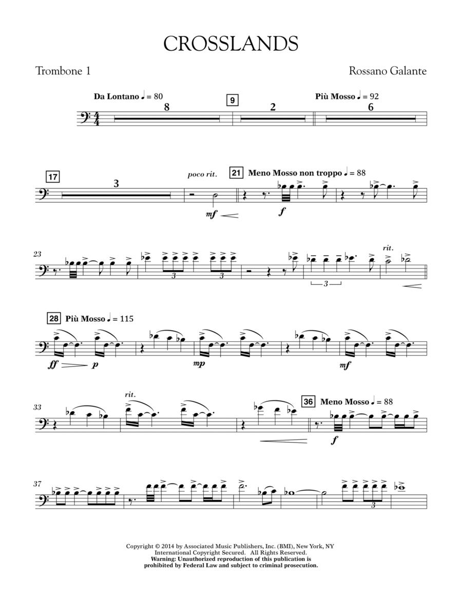 Crosslands - Trombone 1
