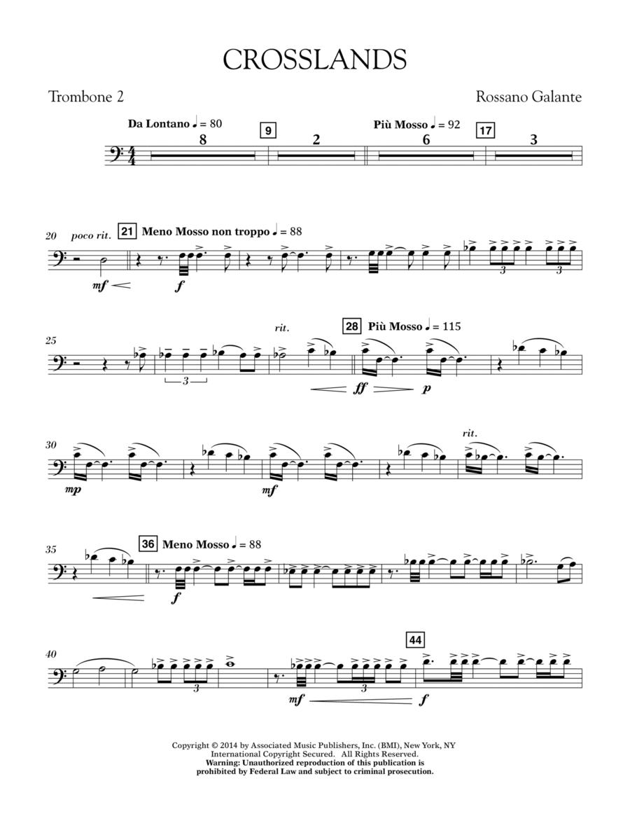 Crosslands - Trombone 2