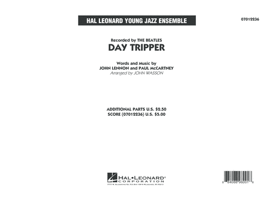 Day Tripper - Conductor Score (Full Score)