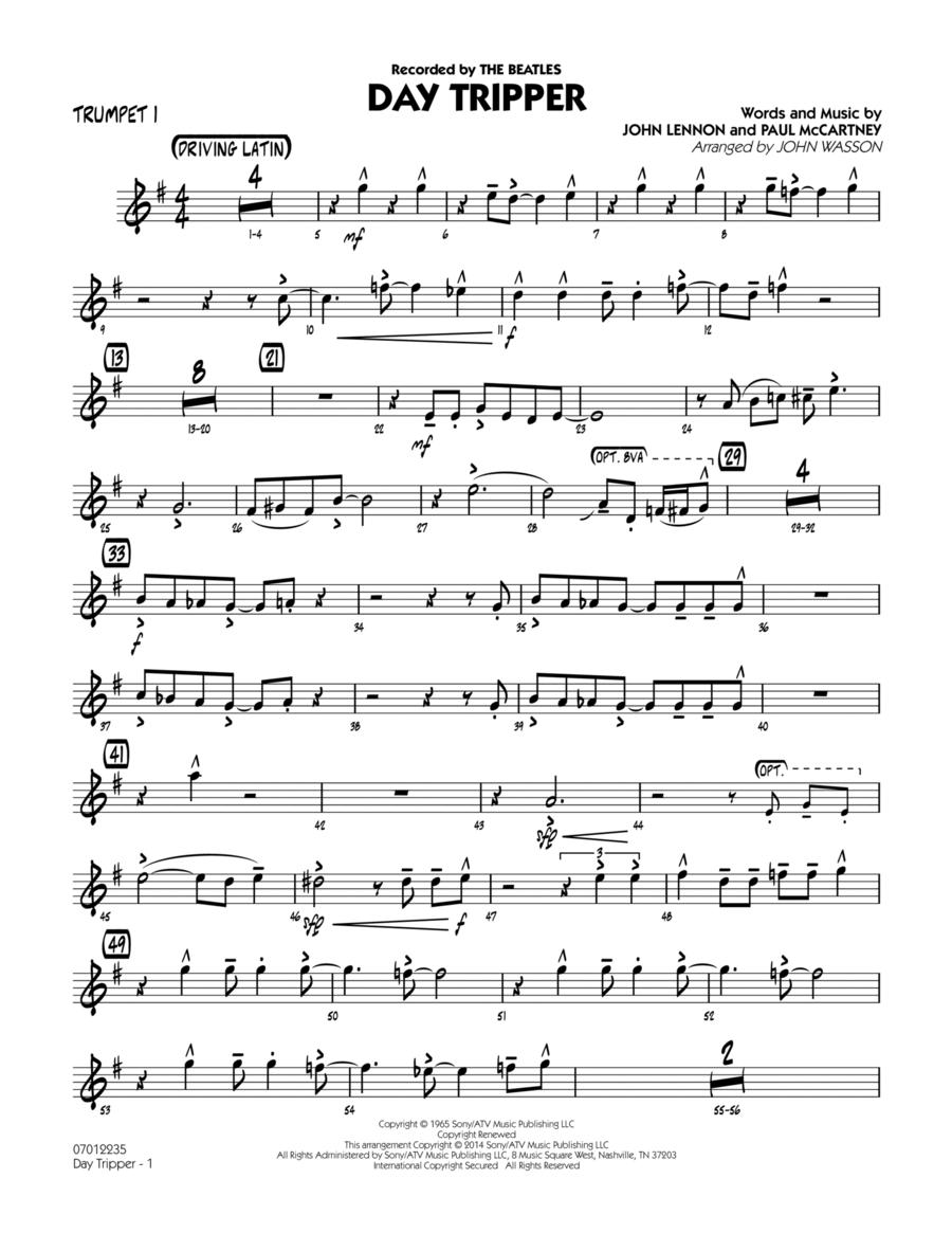 Day Tripper - Trumpet 1