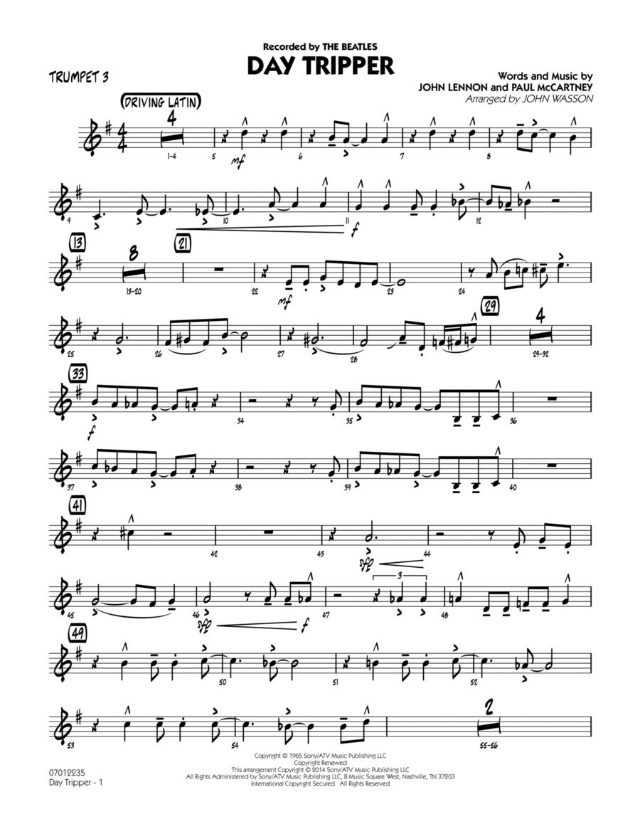 Day Tripper - Trumpet 3
