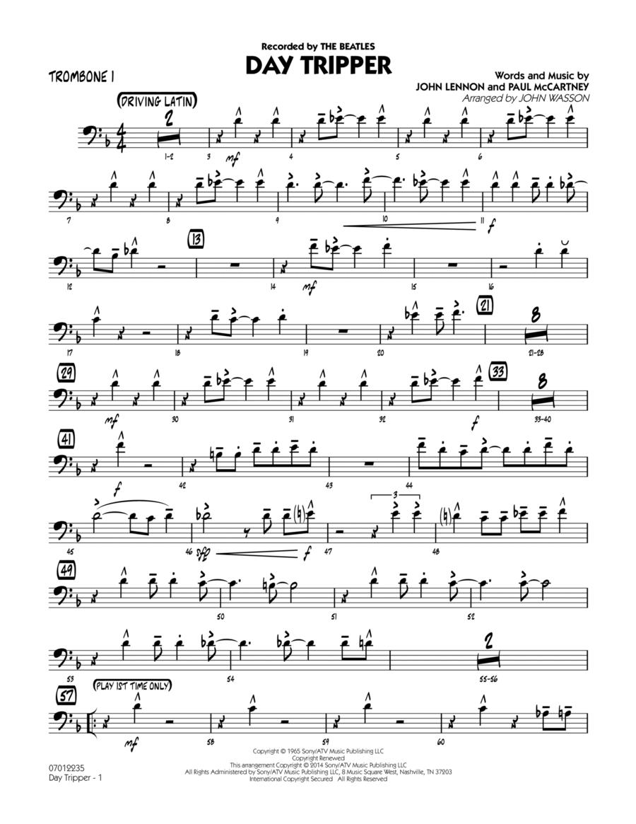 Day Tripper - Trombone 1
