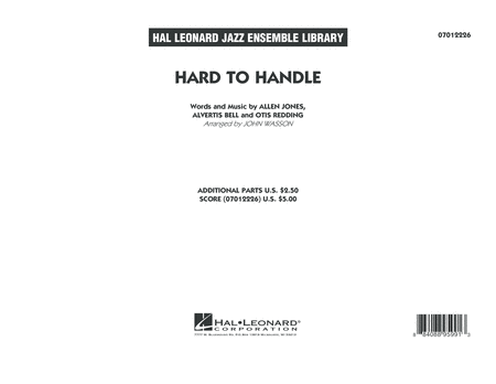 Hard to Handle - Conductor Score (Full Score)