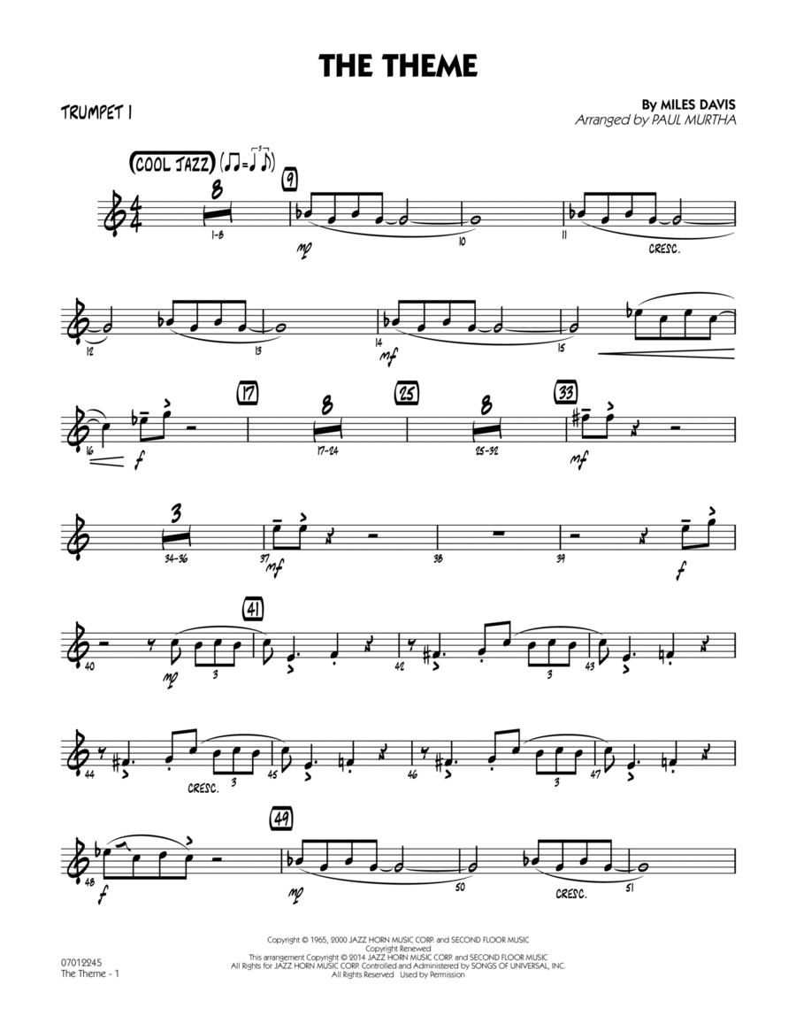 The Theme - Trumpet 1