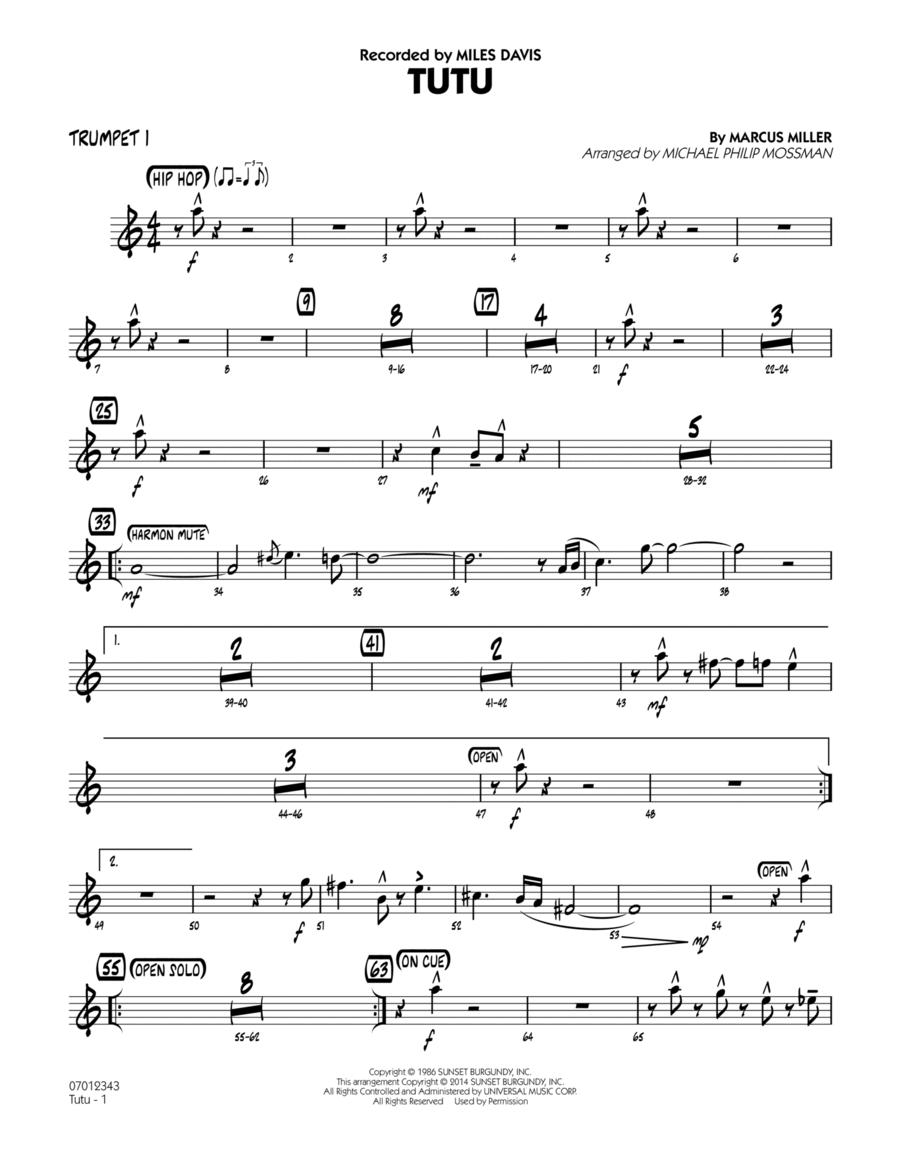 Tutu - Trumpet 1