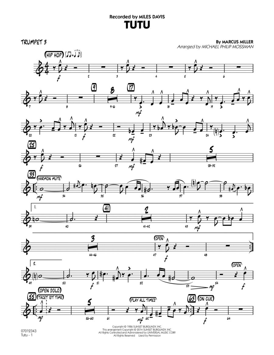 Tutu - Trumpet 3
