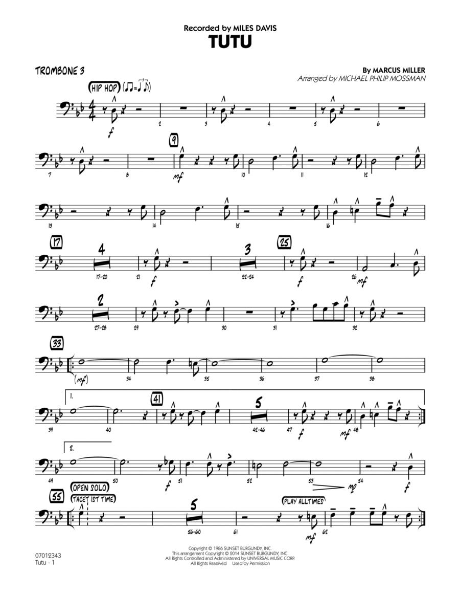 Tutu - Trombone 3