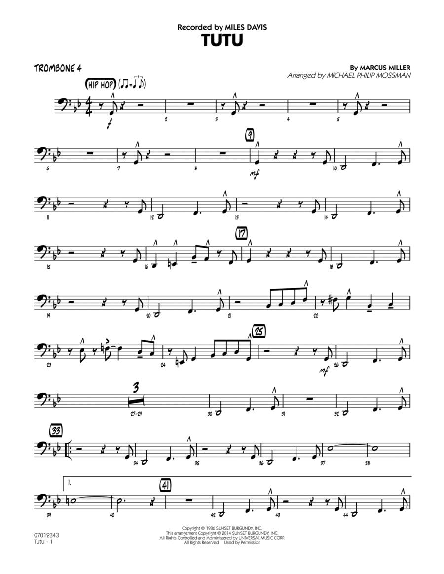 Tutu - Trombone 4