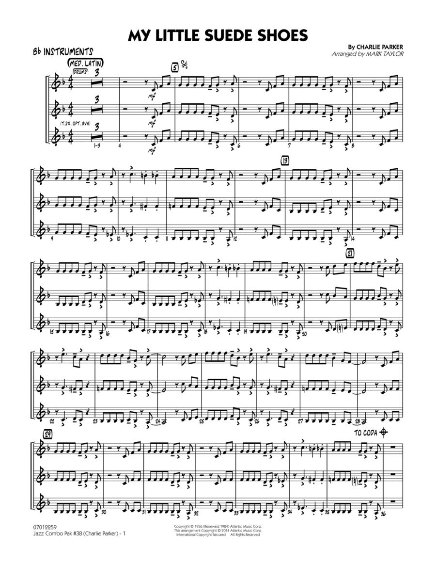 Jazz Combo Pak #38 (Charlie Parker) - Bb Instruments