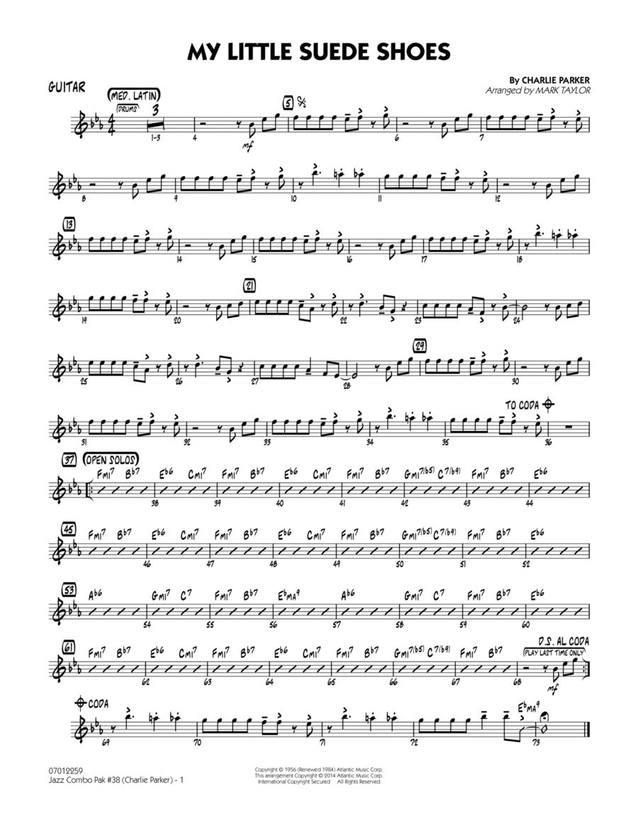 Jazz Combo Pak #38 (Charlie Parker) - Guitar