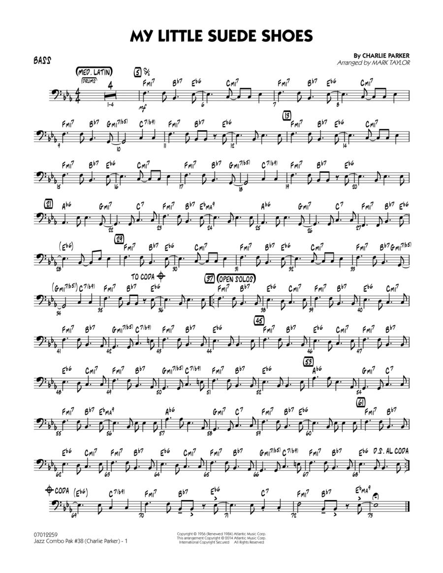 Jazz Combo Pak #38 (Charlie Parker) - Bass