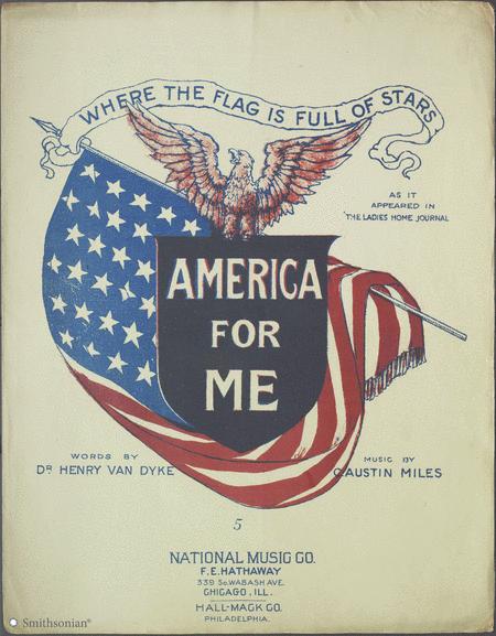America For Me (Where the Flag is Full of Stars)