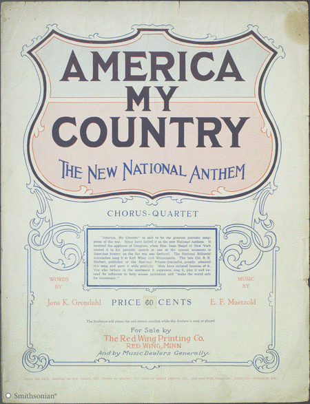 America, My Country (The New National Anthem)