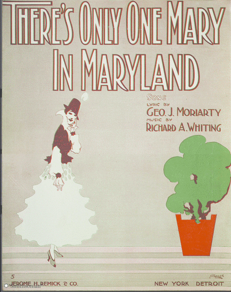 There's Only One Mary in Maryland