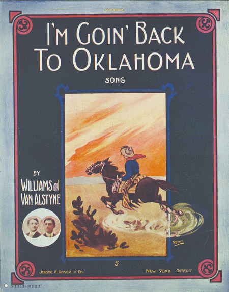I'm Goin' Back To Oklahoma