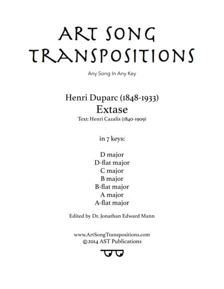 Extase (in 7 keys)