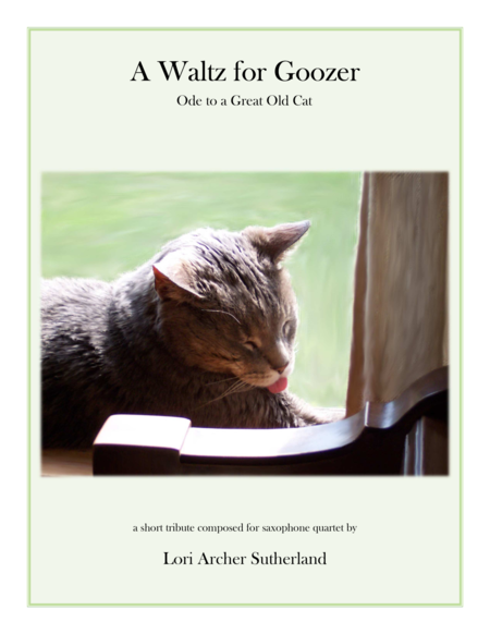 A Waltz for Goozer : Ode to a Great Old Cat