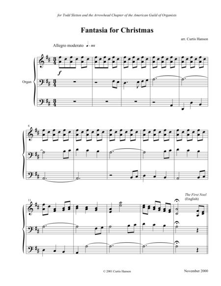 Fantasia for Christmas (organ)