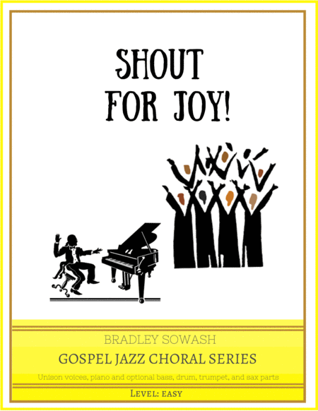 Shout for Joy - Easy Choir and Jazz Quintet