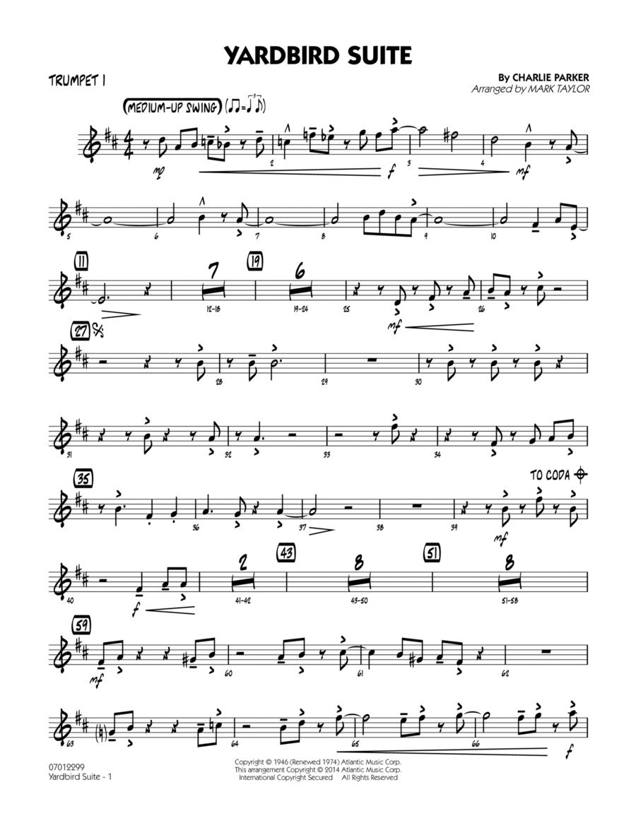 Yardbird Suite - Trumpet 1