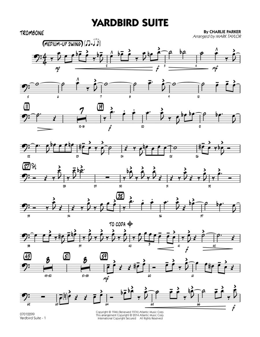 Yardbird Suite - Trombone