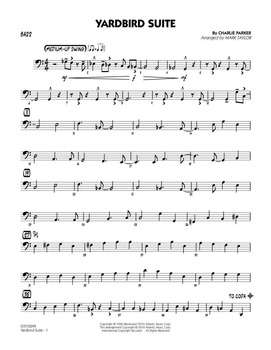 Yardbird Suite - Bass