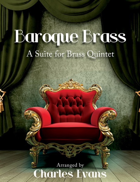 baroque brass sheet music by charles evans sheet music plus