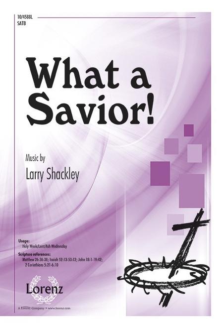 What a Savior!