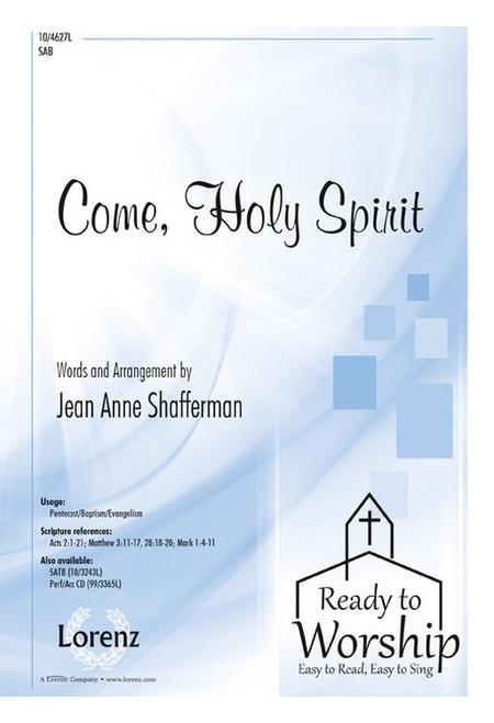 Come, Holy Spirit