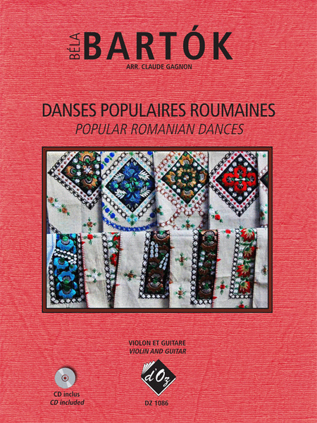 Danses populaires roumaines (CD included)