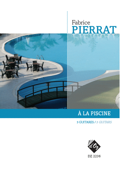 A la piscine sheet music by fabrice pierrat sheet music plus for La piscine review