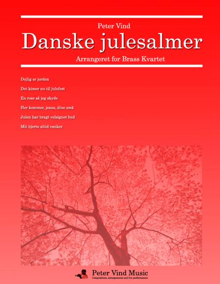 Danske julesalmer for Brass Kvartet arranged by Peter Vind