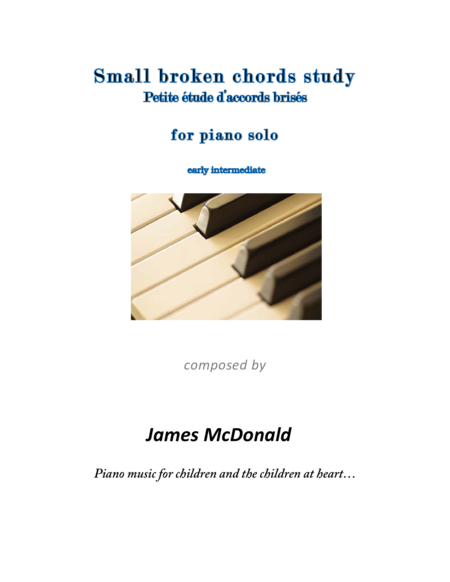 Small broken chord study