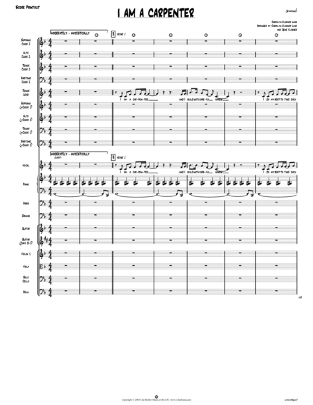 I Am a Carpenter (Joseph's Song) [Director Score]
