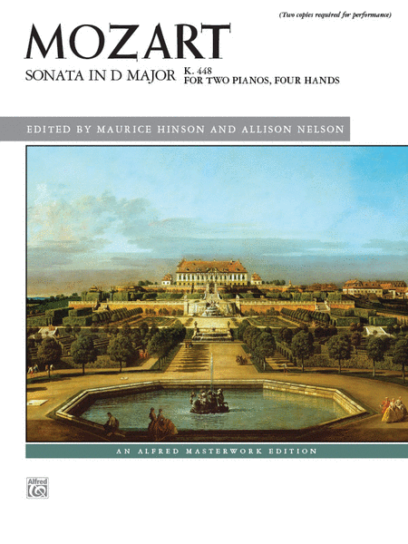 Sonata in D Major, K. 448