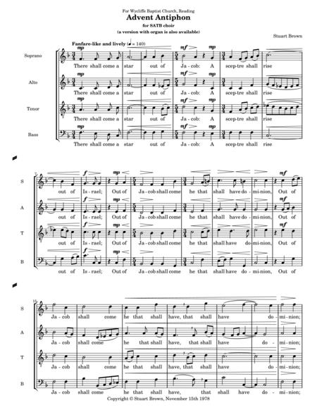 Advent Antiphon