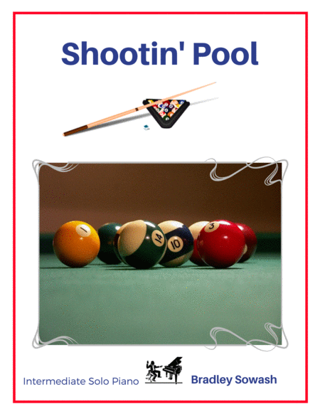 Shootin' Pool - Solo Piano