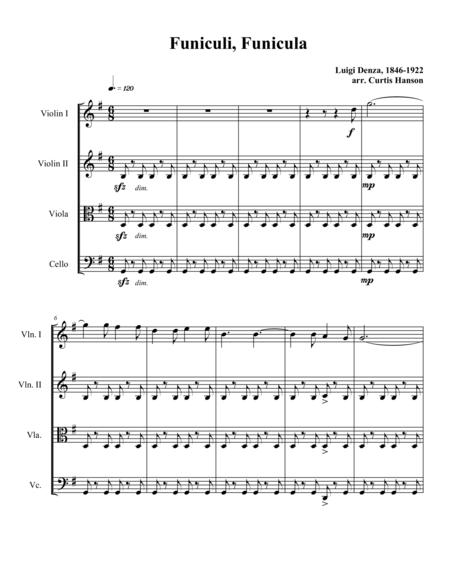 Funiculi, Funicula (string quartet)