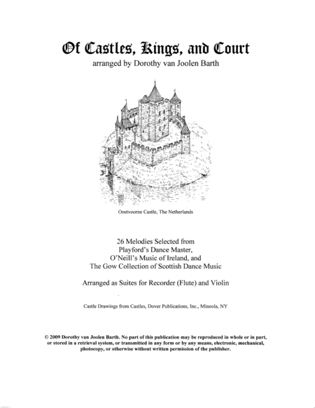 Of Castles, Kings, and Courts (Complete Duo Anthology)